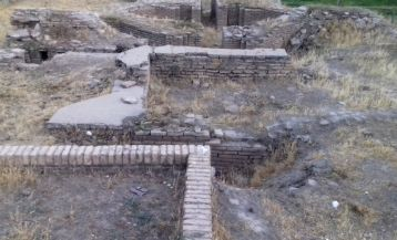 The ruins of Kuksaray
