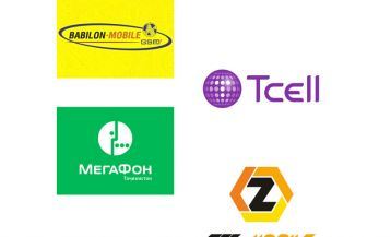Mobile operators in Tajikistan