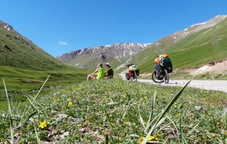 Bike Tour in Kyrgyzstan: Lake Issyk Kul